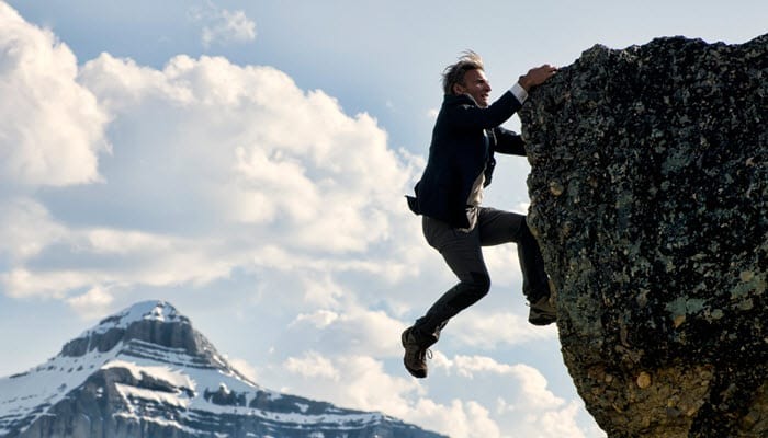 Bevlogen medewerkers hebben plezier in het klimmen | www.weekvandebevlogenheid.nl