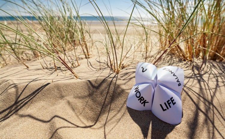 Geen werkstress op vakantie