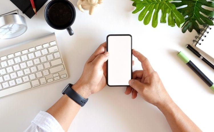Smartphonegebruik op de werkvloer