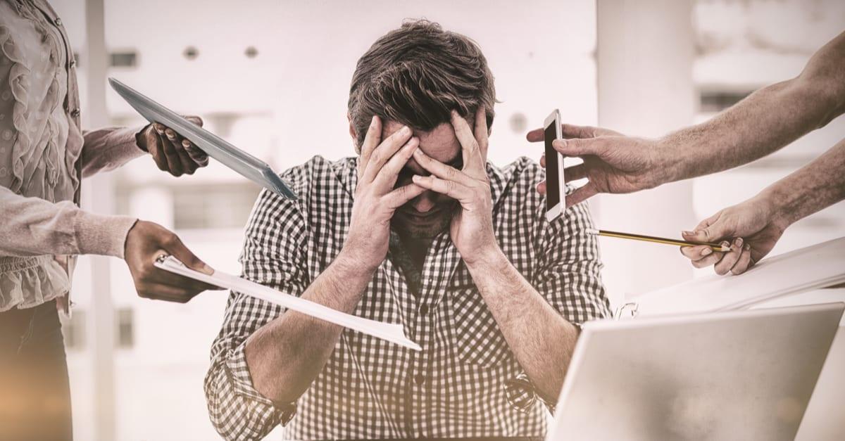 werkstress verminderen
